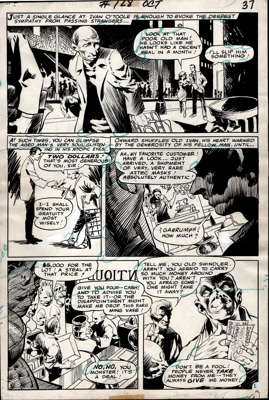 The Unexpected #128 p 1 (1971)