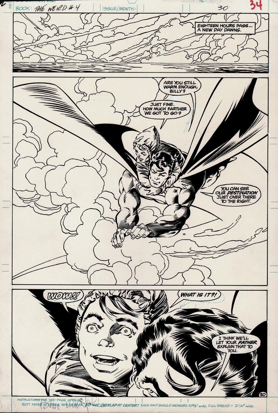 The Weird #4 p 30 SPLASH (1988)