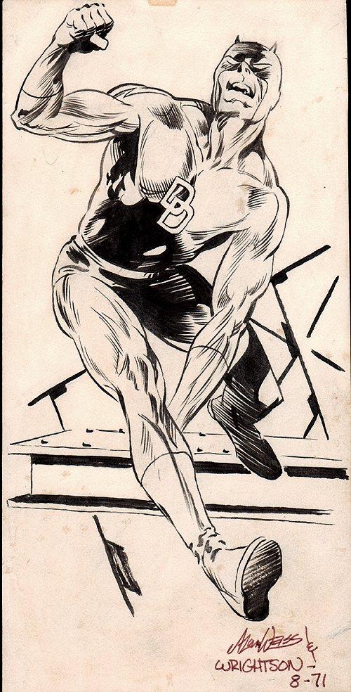 Daredevil Fanzine Pinup (1971)