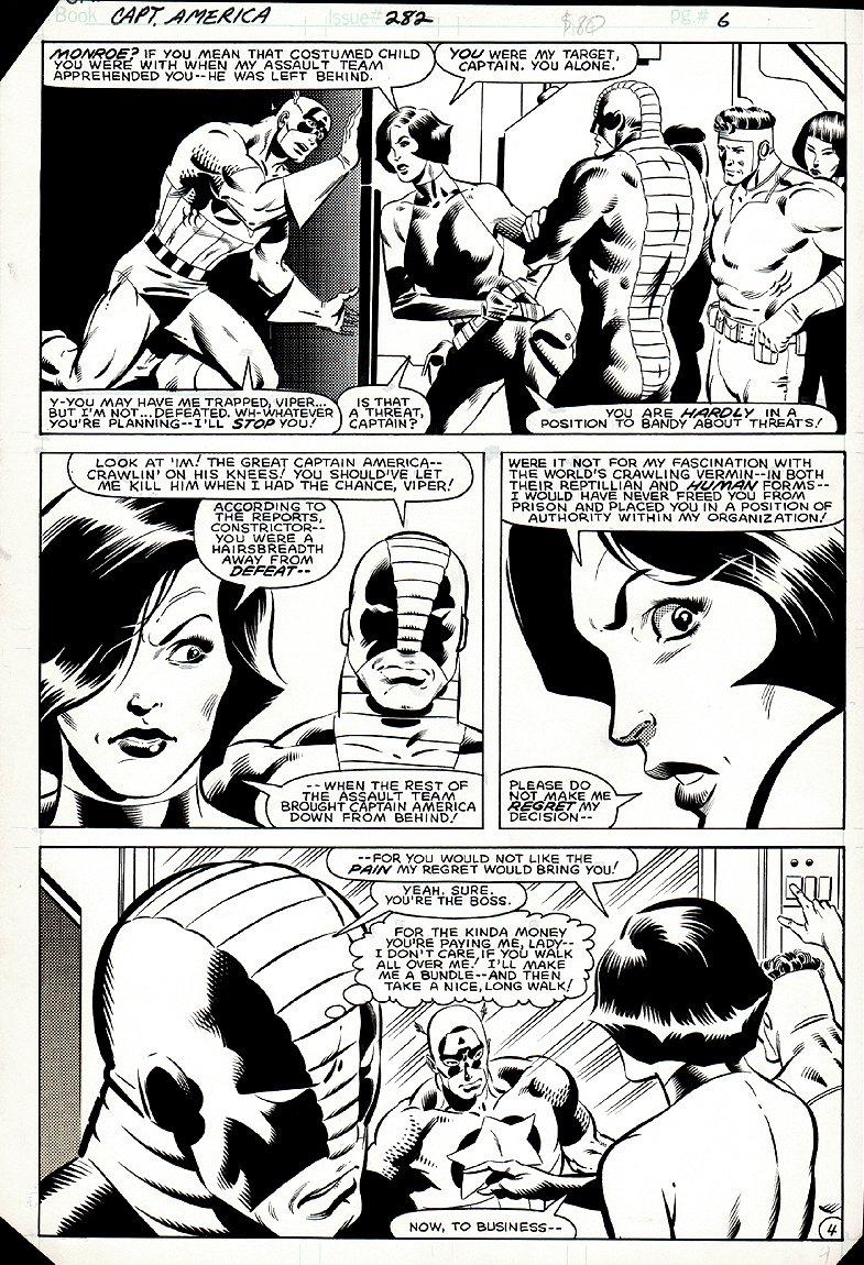 Captain America #282 p 4 (1983)