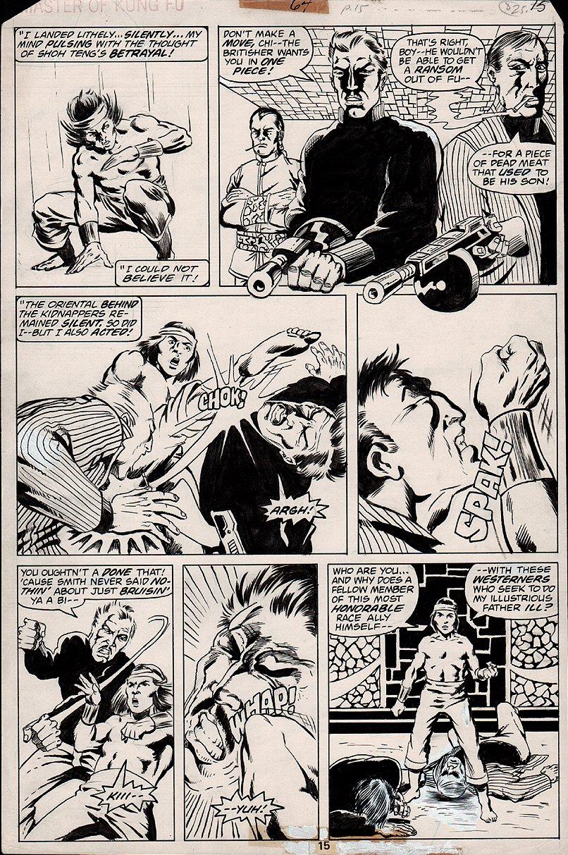 Master of Kung Fu #64 p 15 (1978)