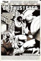 Captain America #278 p 1 SPLASH (1982) Comic Art