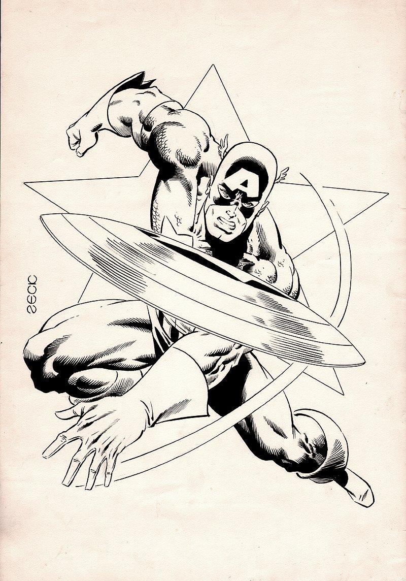 'COSMIC' Fanzine #8 Cover (1982)