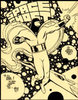 Best Space Ghost Pinup Ever! Comic Art