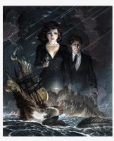 'Storms at Sea' Color Book Cover (2014) Comic Art