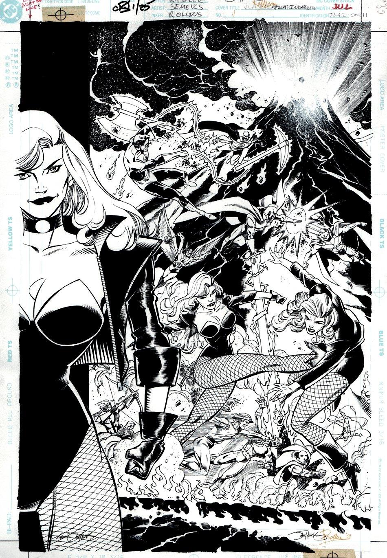 JLA: Incarnations #1 Cover (2001)