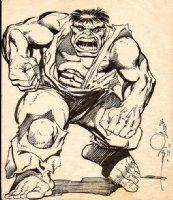 Incredible Hulk Pinup Comic Art