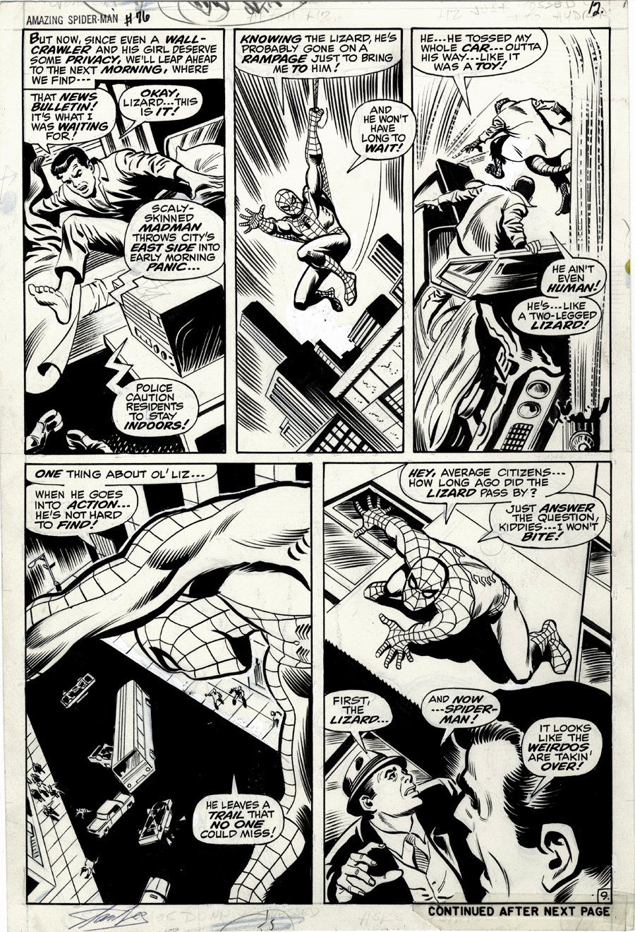 Amazing Spider-Man #76 p 9 (1969)