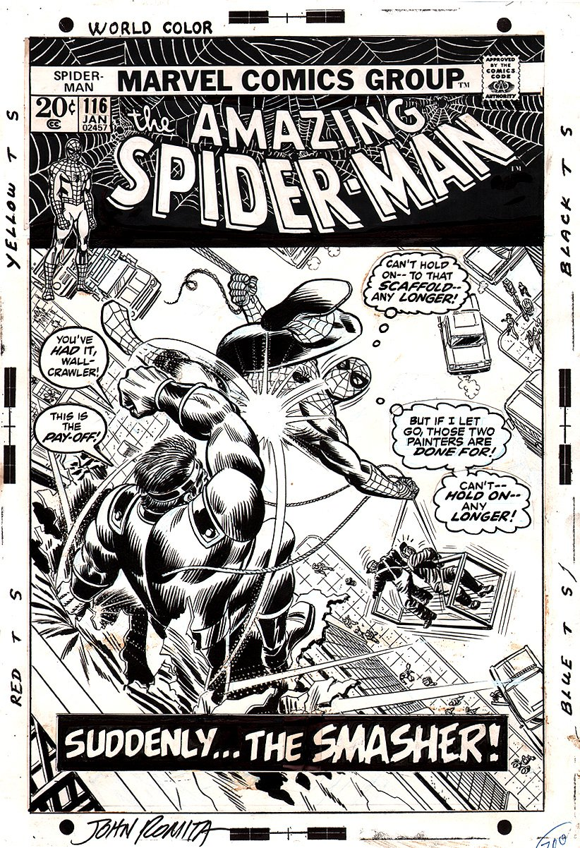 Amazing Spider-Man 116 Cover SOLD SOLD SOLD!