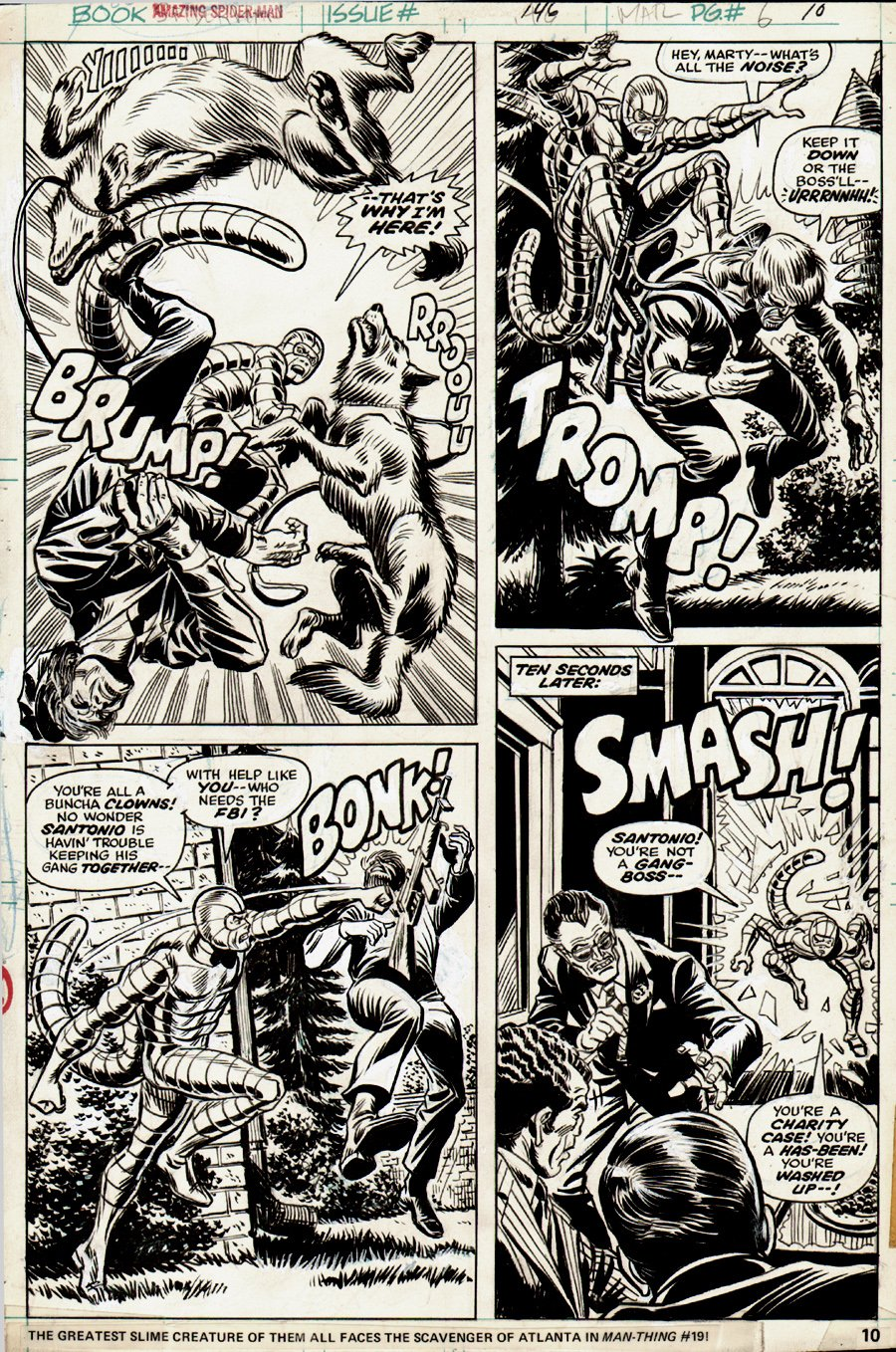 Amazing SpiderMan #146 p 10 (1975) SOLD SOLD SOLD!