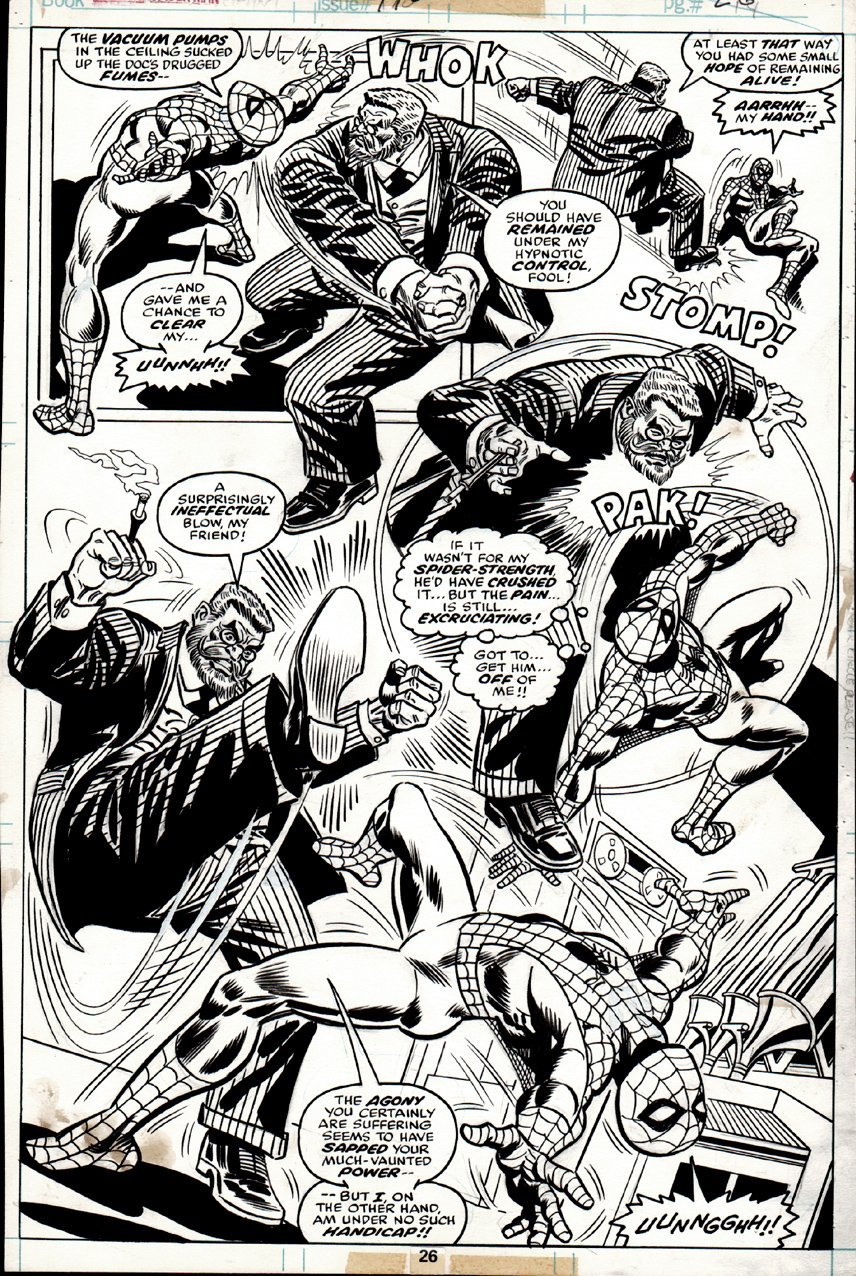 Amazing Spider-Man #170 p 26 SPLASH (1977) SOLD SOLD SOLD!