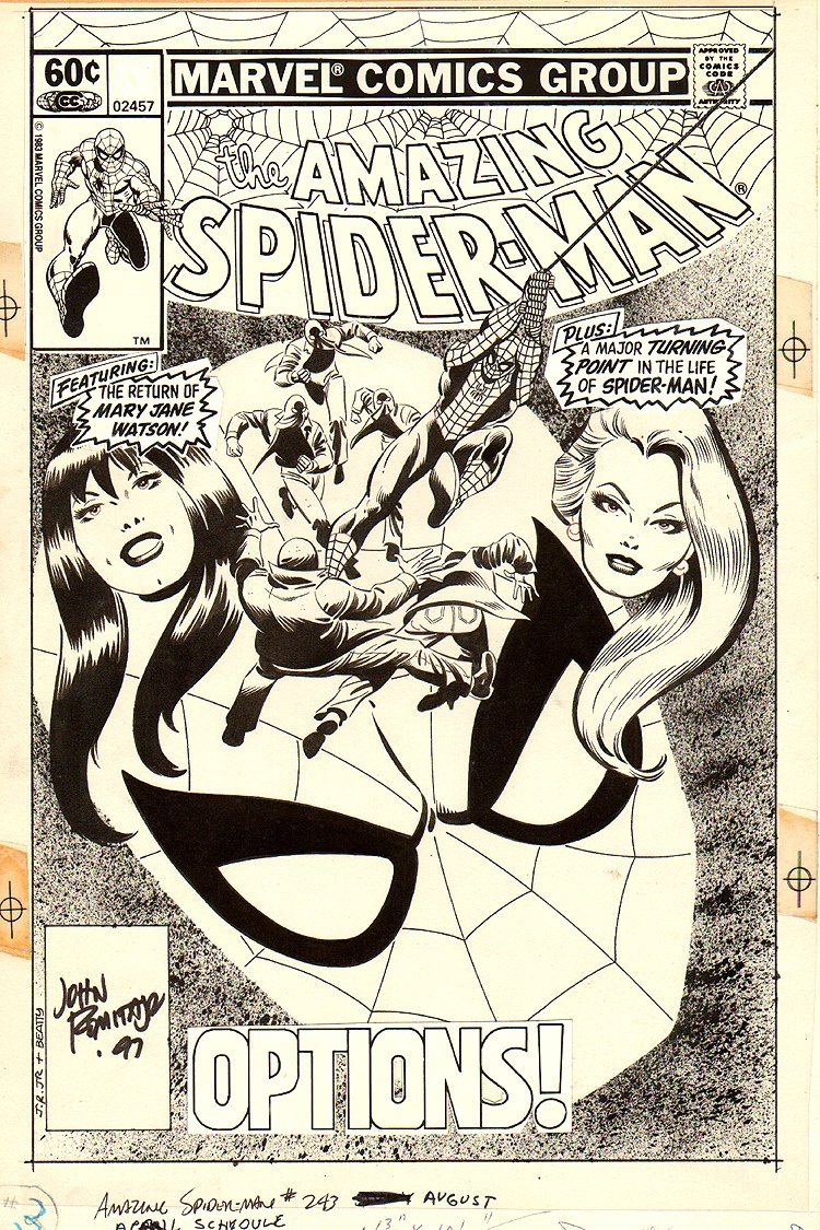Amazing Spider-Man 243 Cover SOLD SOLD SOLD!