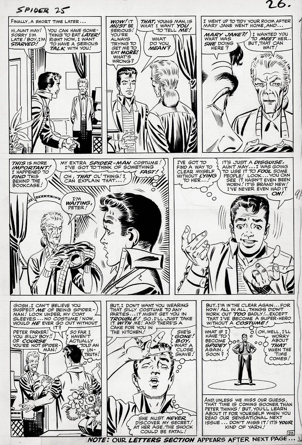 Amazing Spider-Man #25 p 20 (Large Art) 1964