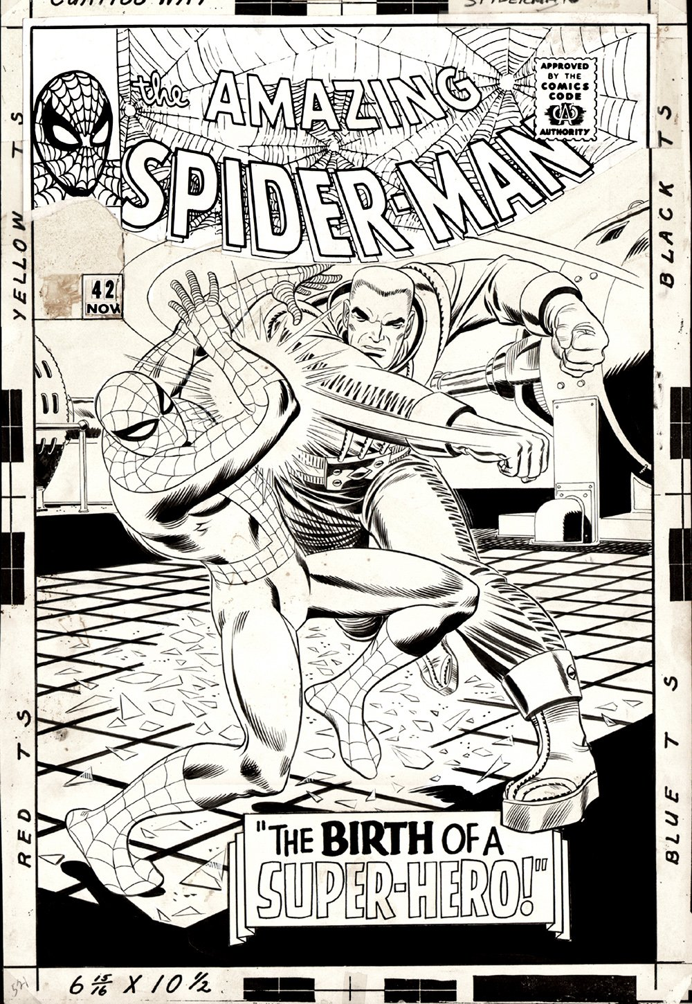Amazing Spider-Man #42 Cover (Large Art) SOLD SOLD SOLD!