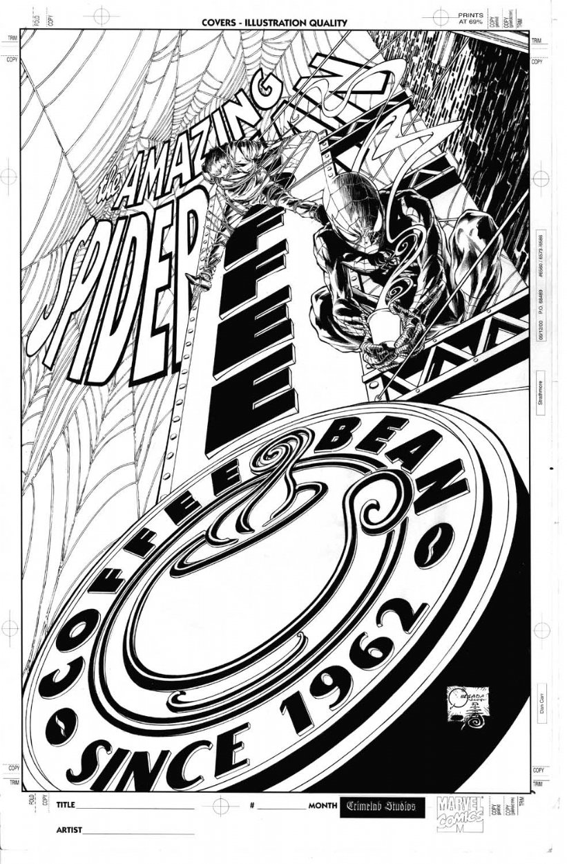 Amazing Spider-Man #593 Cover (2009) SOLD SOLD SOLD!