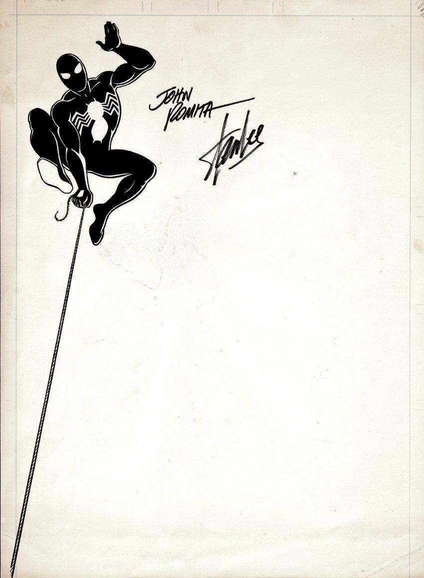 Spider-Man Marvel Stationary Artwork (1980s) SOLD SOLD SOLD!