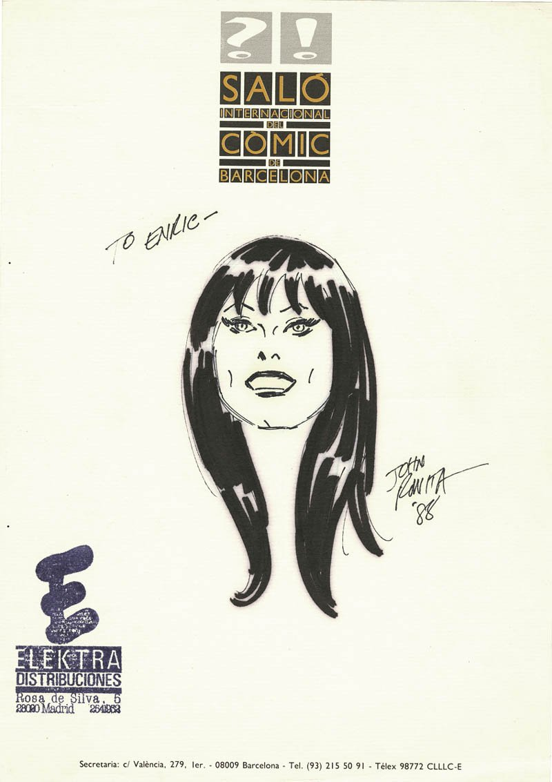 Mary Jane Drawing (1988) SOLD SOLD SOLD!