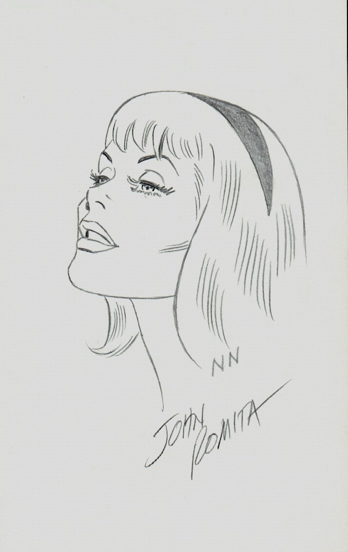 Stunning Gwen Stacy Drawing SOLD SOLD SOLD!