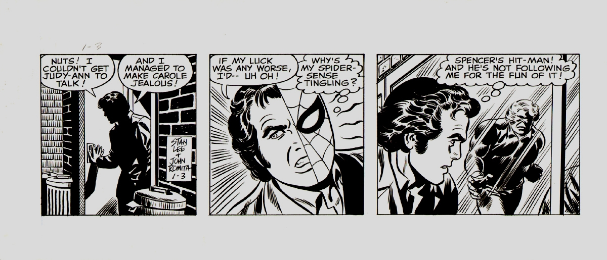 Amazing Spider-Man Daily Strip