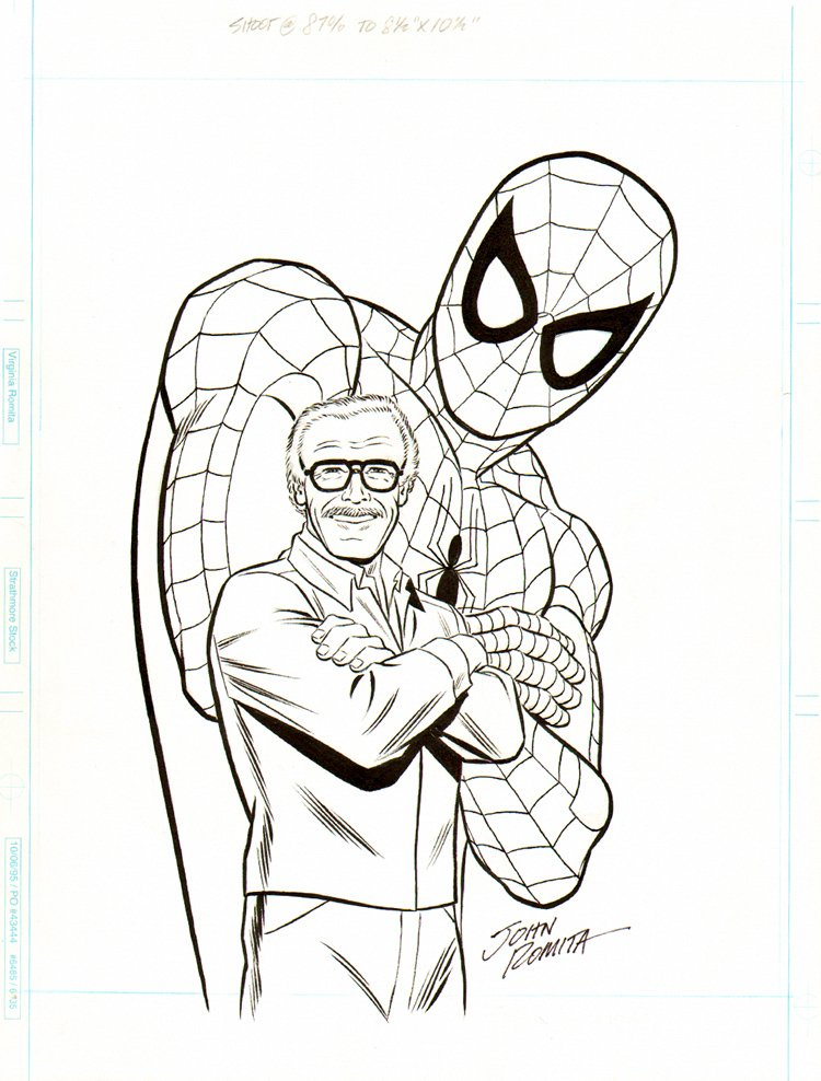 Stan Lee's 'How To Draw Comics' Pinup SOLD SOLD SOLD!