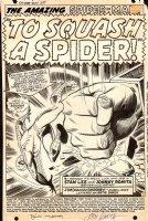 Amazing Spiderman Issue 67 Page 1 SPLASH Comic Art