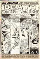 Amazing Spiderman Issue 75 Page 1 Comic Art