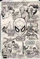 Amazing Spiderman Issue 181 Page 14 SPLASH (1978) SOLD SOLD SOLD! Comic Art