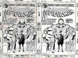 Amazing Spider-Man #185 Cover (1978) SOLD SOLD SOLD! Comic Art