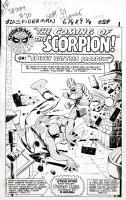 Amazing Spider-Man Issue 20 Page 1 SPLASH (Large Art) 1964 Comic Art
