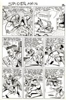 Amazing Spider-Man Issue 20 Page 9 (Large Art) 1964 Comic Art