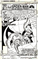 Amazing Spider-Man 223 Cover  SOLD SOLD SOLD! Comic Art