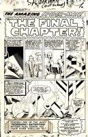 Amazing Spider-Man Issue 33 Page 1 SPLASH (1965) Comic Art