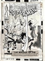 Amazing Spider-Man #59 Cover (VERY FIRST MJ COVER, LARGE ART!) 1967 Comic Art