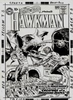 Brave and the Bold #34 Cover 'FIRST SILVER AGE HAWKMAN COVER' (Large Art) 1960 SOLD SOLD SOLD! Comic Art