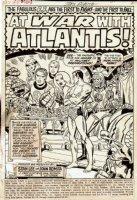 Fantastic Four #103 p 1 SPLASH (1970) SOLD SOLD SOLD! Comic Art