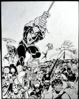 HUGE Spider-Man & Marvel Universe Published Poster Art (1983) SOLD SOLD SOLD! Comic Art