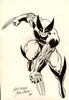 WOLVERINE LARGE MERCHANDISING ART PINUP (1985) SOLD SOLD SOLD! Comic Art