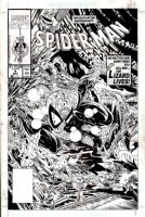 Spider-Man #4 Cover (1990) SOLD SOLD SOLD! Comic Art