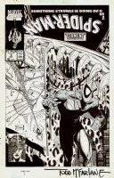 Spider-Man #3 Cover (1990)  SOLD SOLD SOLD! Comic Art