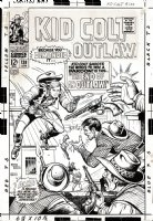 Kid Colt Outlaw #138 Cover (Large Art) 1967 Comic Art