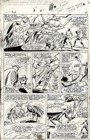 X-Men #24 p 19 (Large Art) 1966 Page (Large Art) 1966 Comic Art
