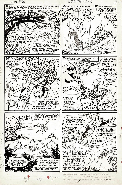 X-Men #26 p 11 (Large Art) 1966