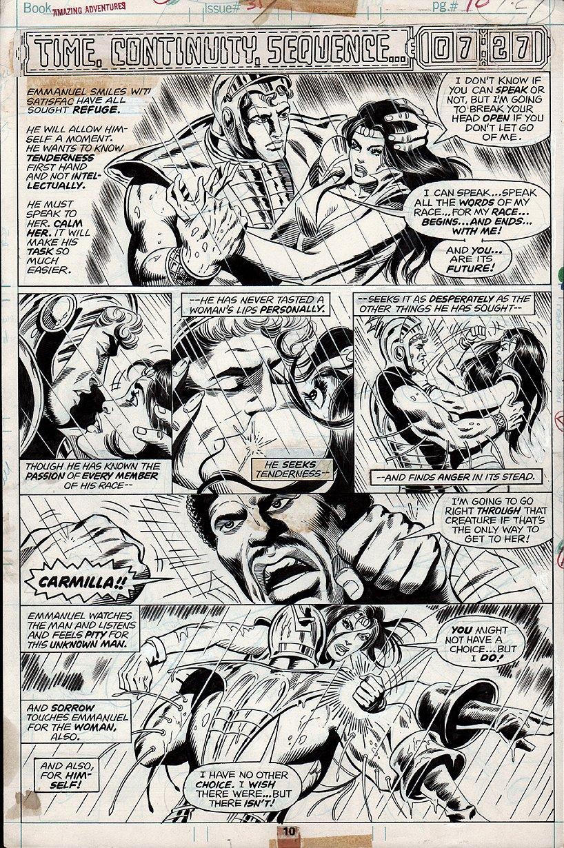 Amazing Adventures #35 p 10 (1973)