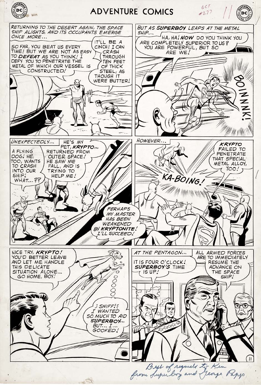 Adventure Comics #277 p 11 (Large Art) 1960