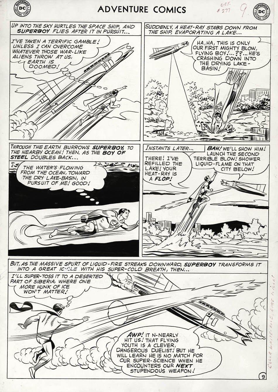 Adventure Comics #277 p 9 (Large Art) 1960