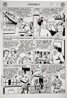 Superboy #91 p 5 (Large Art) 1961 Comic Art