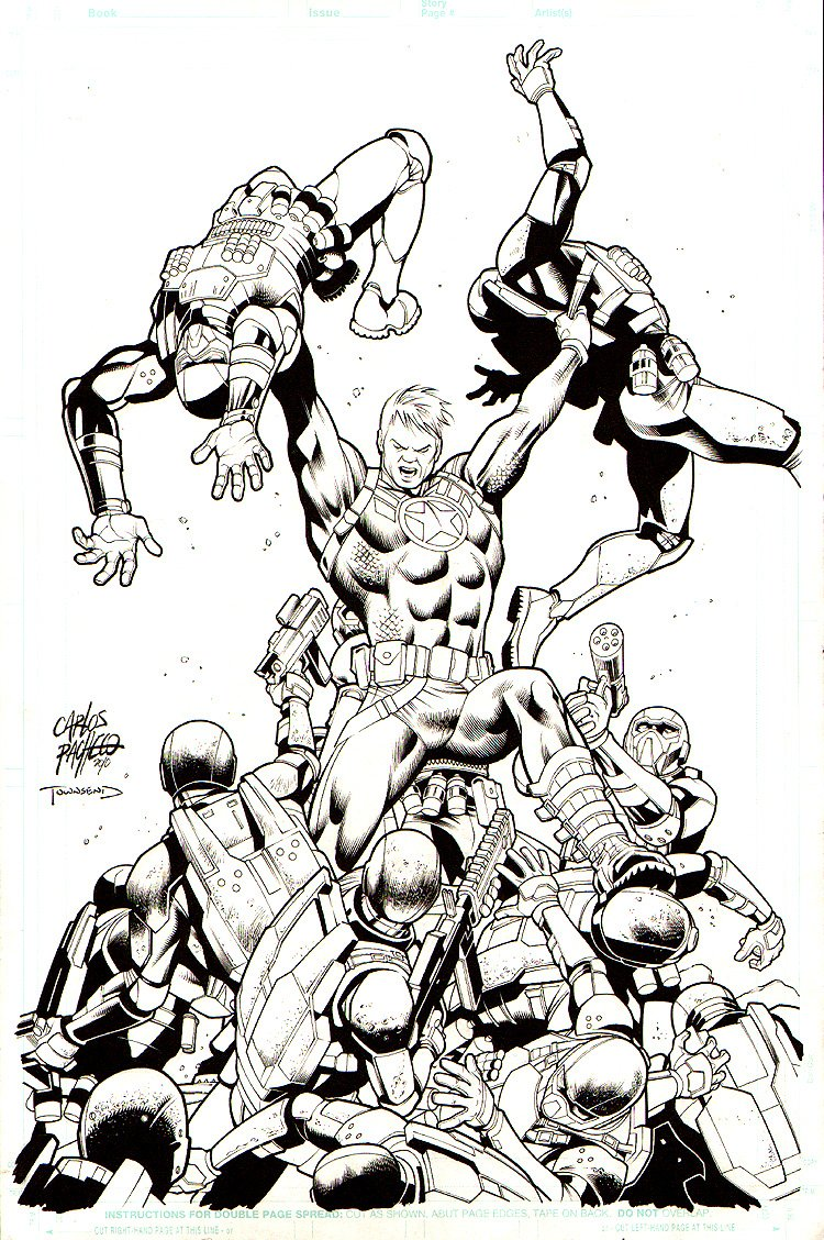 Steve Rogers: Super-Soldier #2 Cover (2010)