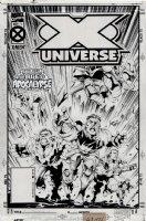 X-Universe #1 Cover (1995) Comic Art