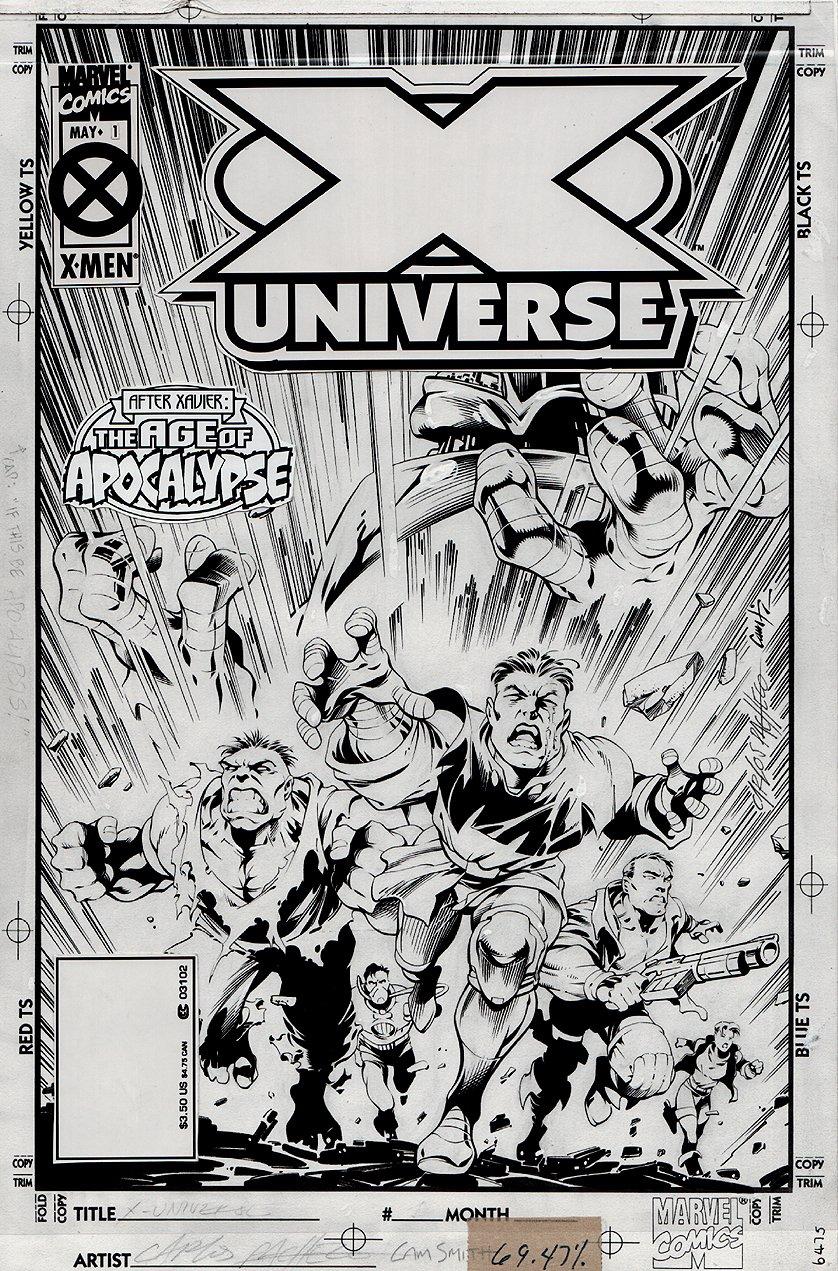 X-Universe #1 Cover (1995)