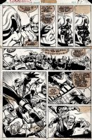 Captain Marvel #53 p 27 (1977) Comic Art